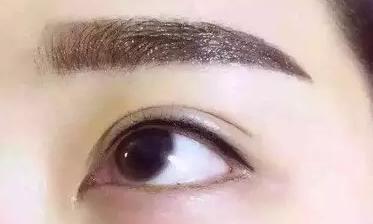 半永久纹眉能洗干净吗